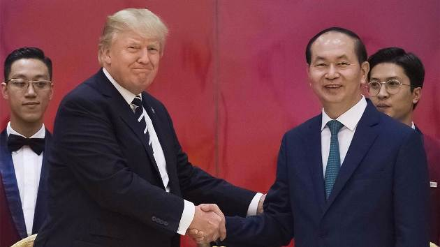 Making Deals: President Trump's Visit to Vietnam