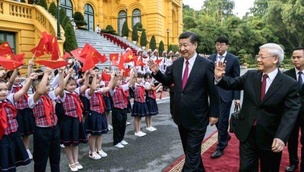 Pull and Push: Sino-Vietnamese Relations and President Xi's HanoiVisit